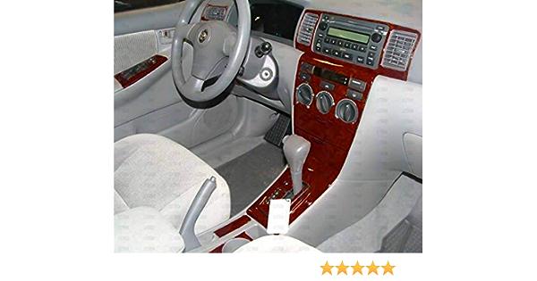 Replacement Parts Toyota COROLLA INTERIOR BURL WOOD DASH TRIM KIT ...