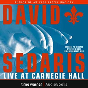 David Sedaris Live at Carnegie Hall Performance