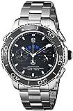 TAG Heuer Men's THCAK211ABA0833 Aqua Racer Analog Display Swiss Automatic Silver Watch