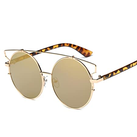 Women Men/'s Vintage Retro Glasses Unisex Fashion Aviator Mirror Lens Sunglasses