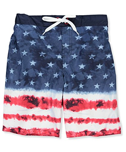 Smith's American Big Boys' Swim Trunks - Navy, (Big Smith Clothing)