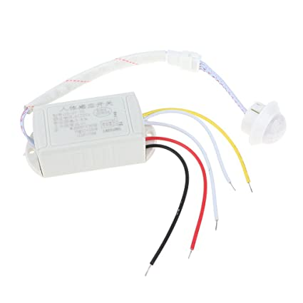 KESOTO Lámpara de Techo led luz pir infrarrojo Sensor de Movimiento Interruptor ac180-240v
