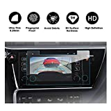 RUIYA 2017 Toyota Corolla In-Dash Screen Protector, HD Clear Tempered Glass Car Navigation Screen Protective Film