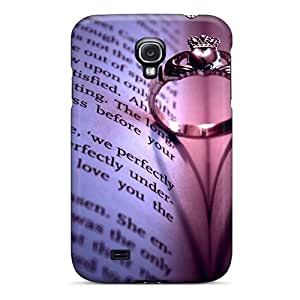 Anti-Scratch Hard Cell-phone Case For Samsung Galaxy S4 With Support Your Personal Customized Stylish Love Friendship Pattern LauraFuchs