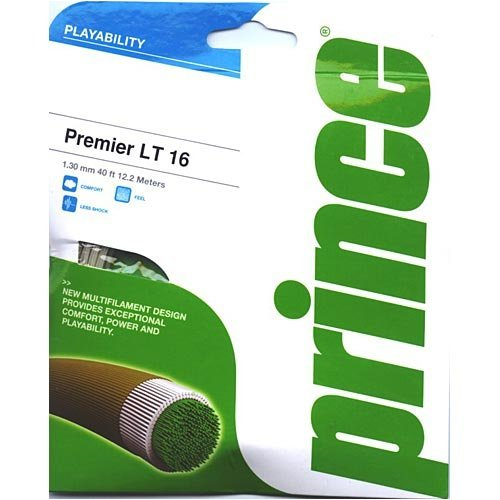 Prince Tennisschlägersaite Premier LT 1.30mm Multifil 12, 2m Set 7J803000080 7J803-000
