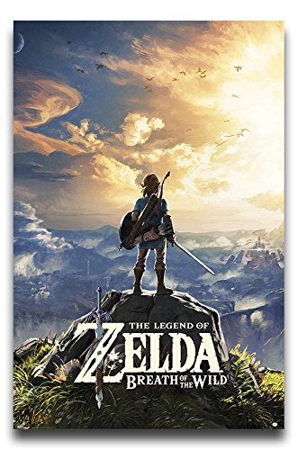The Legend Of Zelda Breath Of The Wild Sunset Poster Gloss L