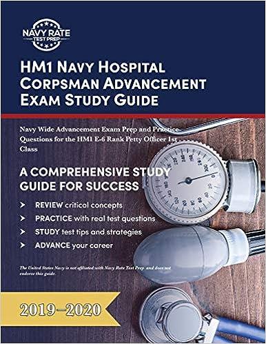Amazon. Com: hm1 navy hospital corpsman advancement exam study.