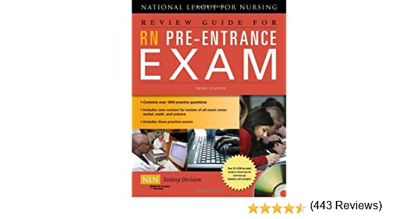 Review Guide for LPN/LVN Pre Entrance Exam, Second Edition