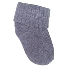 JRP Kids and baby Basic Foldover colored socks