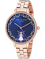 Ted Baker Womens KATE Quartz Stainless Steel Casual Watch, Color:Rose Gold-Toned (Model: TE50005002)