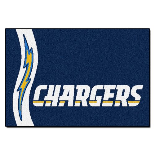 San Diego Baseball Mat (FANMATS NFL San Diego Chargers Nylon Face Starter Rug)