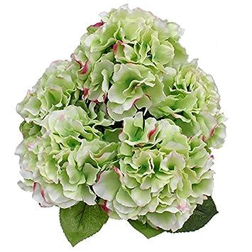1 Haufen Von 5 Blumen Kuulee Kunstblumen Mallorca Hortensienblume
