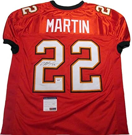 new product 8ae36 fc7c6 Doug Martin Autographed Signed Tamp Bay Buccaneers Jersey at ...