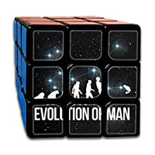 Evolution Man Fishing Best-selling 3x3 Fidget Cube Super-durable With Vivid Colors Bearing Toy Adults & Children For Killing Time Or Relaxation