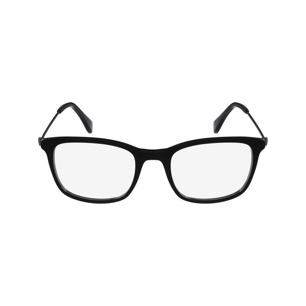 Calvin Klein Platinum – CK5929, Rechteckig, Acetat, Damenbrillen, BLACK(001 A ), 51/19/140