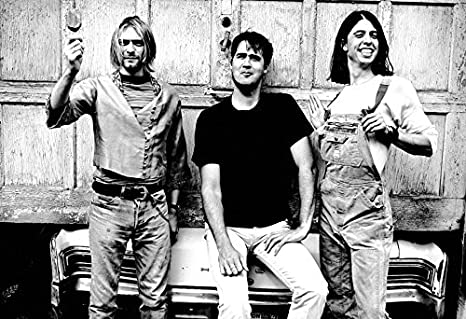 Nirvana Poster 13x19quot Quality Black And White Print