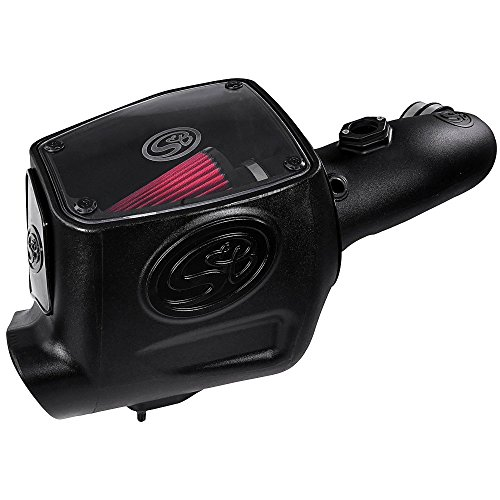 S&B Filters 75-5105 Cold Air Intake for 2008-2010 Ford Powerstroke 6.4L (Cotton Cleanable Filter)