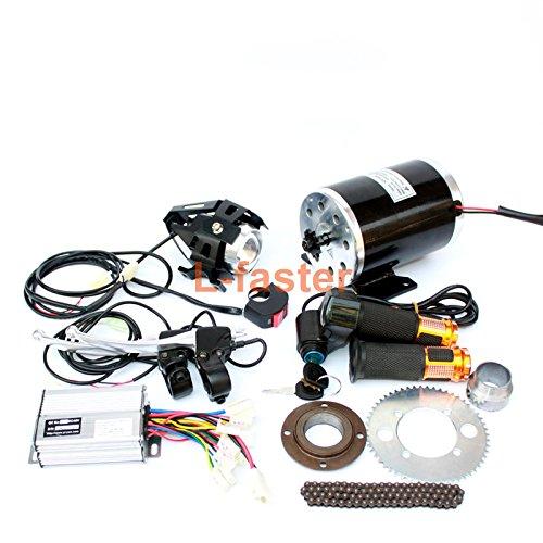 500ワット電動スクーターブラシ変換キットでヘッドライトdiy子電動スクーター電動ミニオートバイエンジンキット使用25 h B07CFWGC4X 24V500W twist kit 24V500W twist kit
