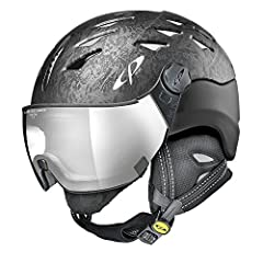 KEY FEATURES Elegant printed design adds a refined touch to your mountain look All in One Design merges helmet and goggle into one simplifying your preparations and providing superior performance Climate+ System maintains a comfortable enviro...