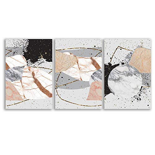 signwin - 3 Piece Canvas Wall Art - Abstract Art - Canvas Prints Home Artwork Decoration for Living Room,Bedroom - 16