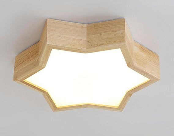 Lighsch luci a soffitto casa moderna stelle logs lampada led