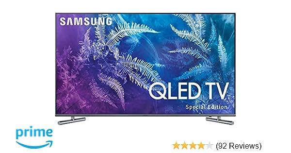 Amazon Samsung Electronics QN55Q6F 55 Inch 4K Ultra HD Smart QLED TV 2017 Model