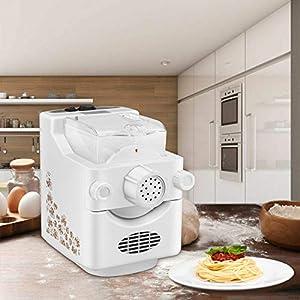 InLoveArts Macchina per pasta elettrica Macchina per pasta automatica Macchina per tagliatelle domestica multifunzione…