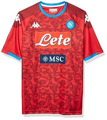 Ssc Napoli Men's Home Replica Goalkeeper Match Shirt 2019/20