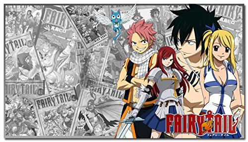 Tomorrow sunny Fairy Tail Anime Art Silk Poster 24x36 inch L