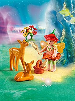 1 lying down FAWNS = 1 standing Playmobil animals SET OF 2 YOUNG BROWN DEER