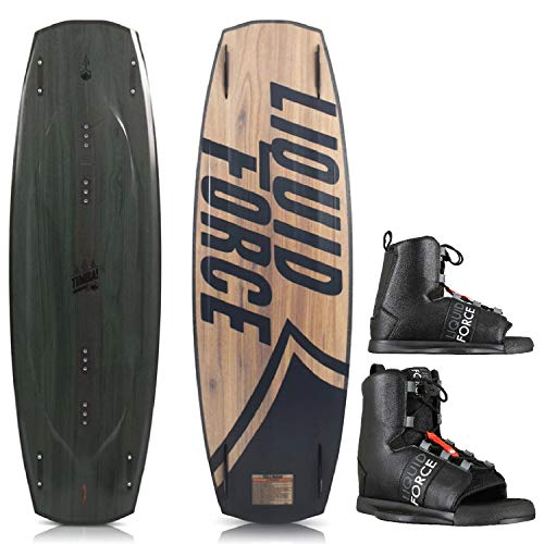 Liquid Force Timba Wakeboard Mens Sz 136cm Bindings for sale  Delivered anywhere in USA