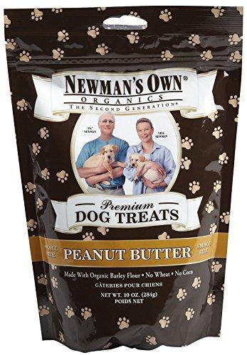 Newmans Own Organics Small Dog Treats Peanut Butter -- 10 oz