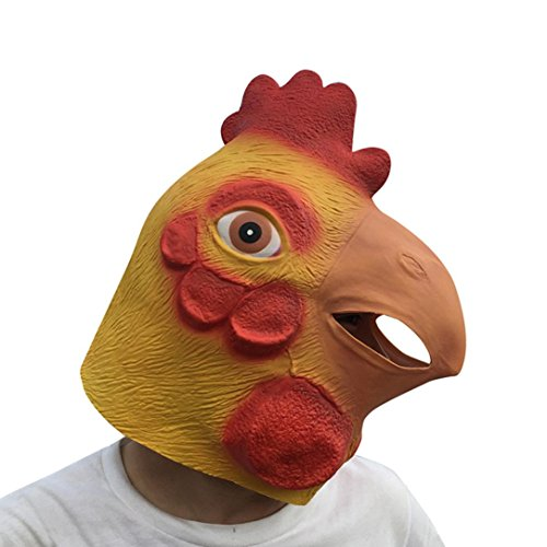 Hot Sale!Halloween Mask,Sunfei Novelty Props Latex Animal Head Costume Masks Halloween Party Cosplay Decorations (Hen) by Sunfei