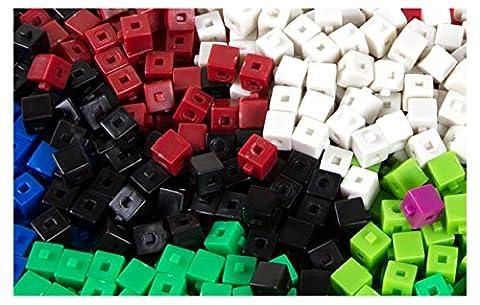 ETA hand2mind Centimeter Unit Cubes, Set of 500 (Volume Cubes)