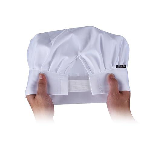 Amazon.com: WearHome(TM) - Gorra de chef ajustable. Gorra ...