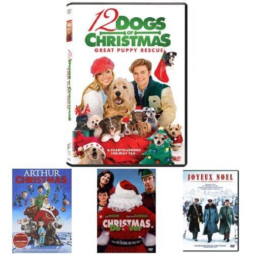12 Dogs of Christmas: Great Puppy Rescue + Arthur Christmas + Christmas Do-Over + Joyeux Noel (Merry Christmas, ()