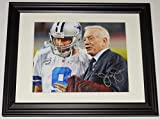 #4: Jerry Jones Autographed Picture - 8x10 Color framed & Matted - ! - Autographed NFL Photos