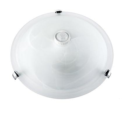 Maclean MCE22 plafón Detector de movimiento Plafond De Infrarrojos LED Color Blanco