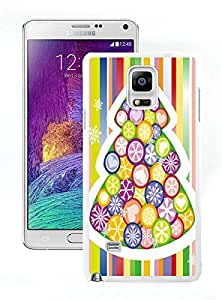 Popular Sell Merry Christmas White Samsung Galaxy Note 4 Case 82