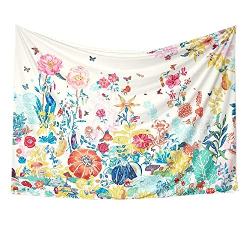 "Flber Great Meadow Wall Tapestry Home Decor,60"" Lx 80"" W from Flber"