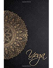 """yoga: Yoga Lined Notebook Journal Daily Planner Diary 6""""x 9"""": Yoga Journal Notebook Blank Lined Book"""