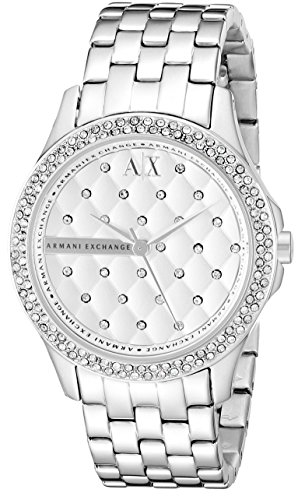 Armani Exchange Women's AX5215  Silver  Watch (Armani Exchange Ladies Watches)