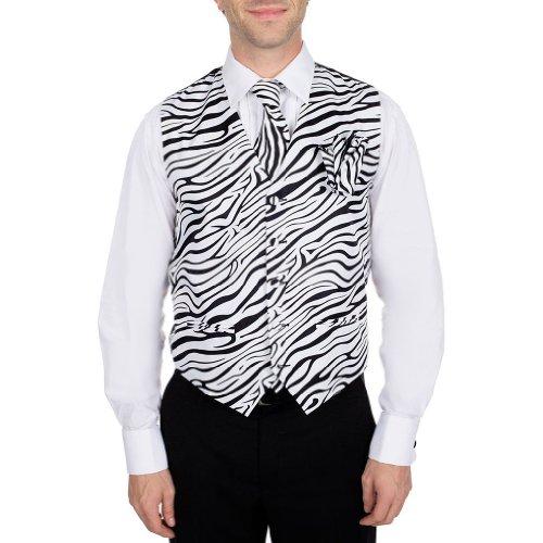 Zebra Print Vest - 1