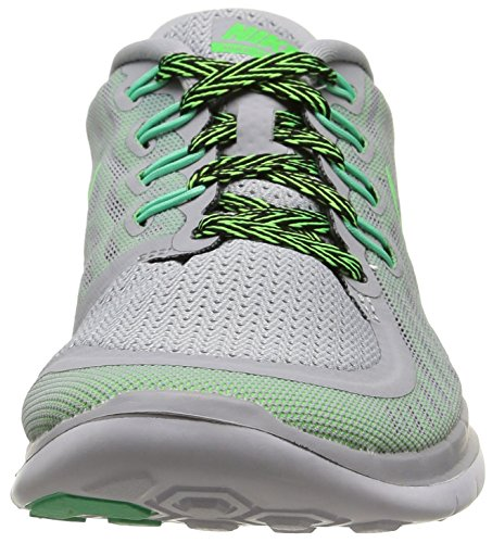 Nike Womens Free 5.0 - Wolf Grijs / Strike / Ghost Green / Voltage 724383-013 7 Us Maat