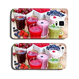 Organic smoothies, fruit yogurt and juices cell phone cover case Samsung S6