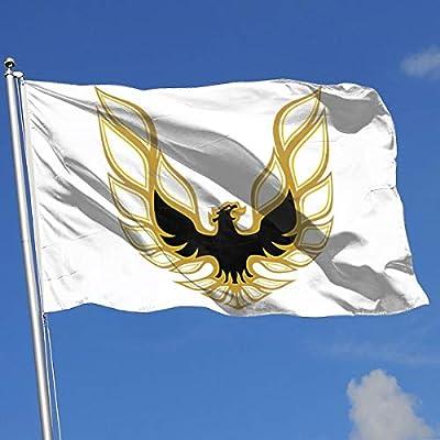 Heads-Galaxy Trans Am Firebird Logo Flag 3x5(90x150CM),Banner 3'x5' FT,3x5 Garden Flag