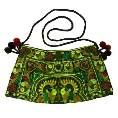 BenThai Products, Borsa a tracolla donna verde Multicolor