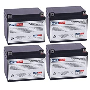 12V 26AH NB Replacement Battery Set for Datashield AT1200 UPS