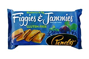 Pamelas Products Gluten Free Figgies And Jammies Cookies Blueberry And Fig 9 Ounce by Pamela's Products