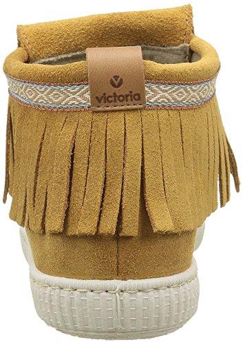 Victoria Flecos Serraje, Botines para Mujer marrón (Cuero)